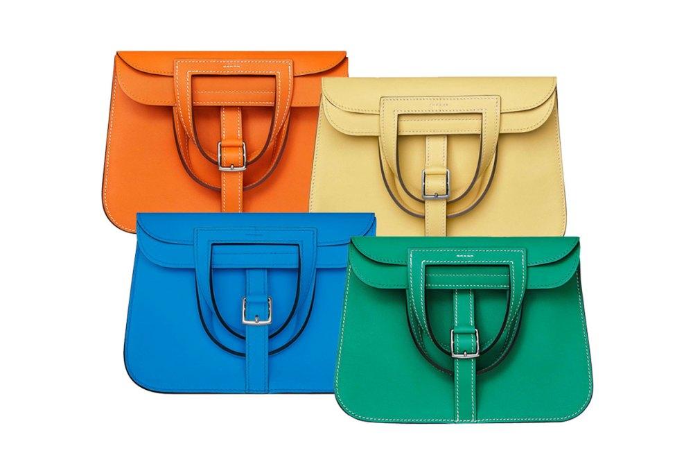 Hermès Halzan Mini Bag Colour