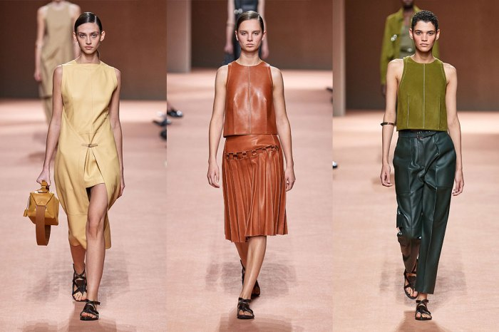 #PFW:只有 Hermès 做到的洗練高級美:從衣服到手袋,都是現代衣櫥經典