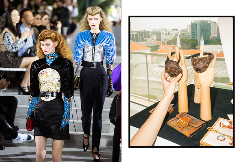 Louis vuitton cruise 2020 backpack bumbag party bracelets