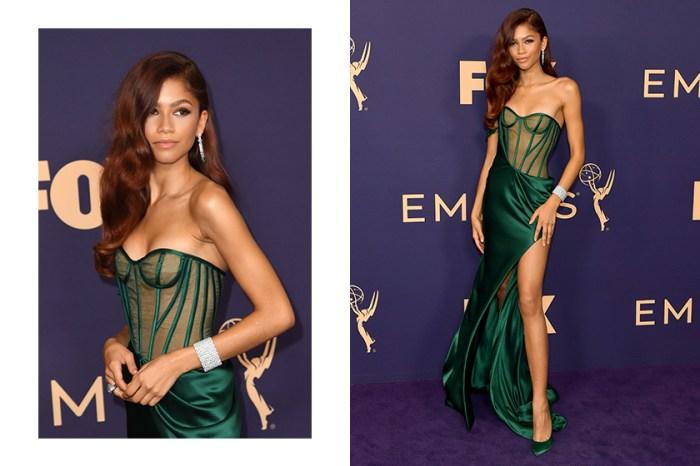 紅毯最美:Zendaya 穿上典雅翠綠色高衩禮服,原來靈感是來自 DC 這個角色?