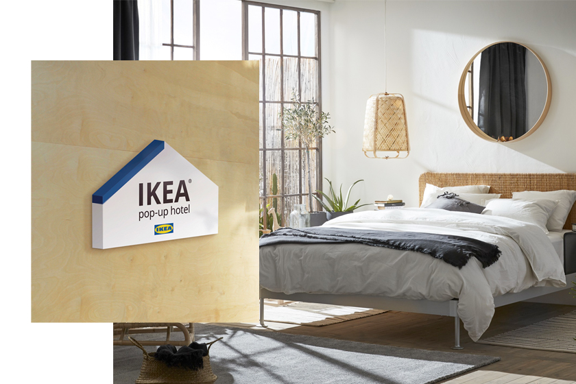 ikea pop up hotel taipei taiwan free check in how to