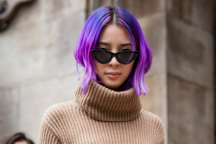 電光紫髮色風潮吹到亞洲!看看日本女孩如何駕馭