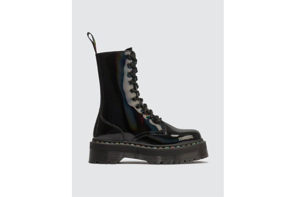 Jadon Hi Rainbow Patent Boots