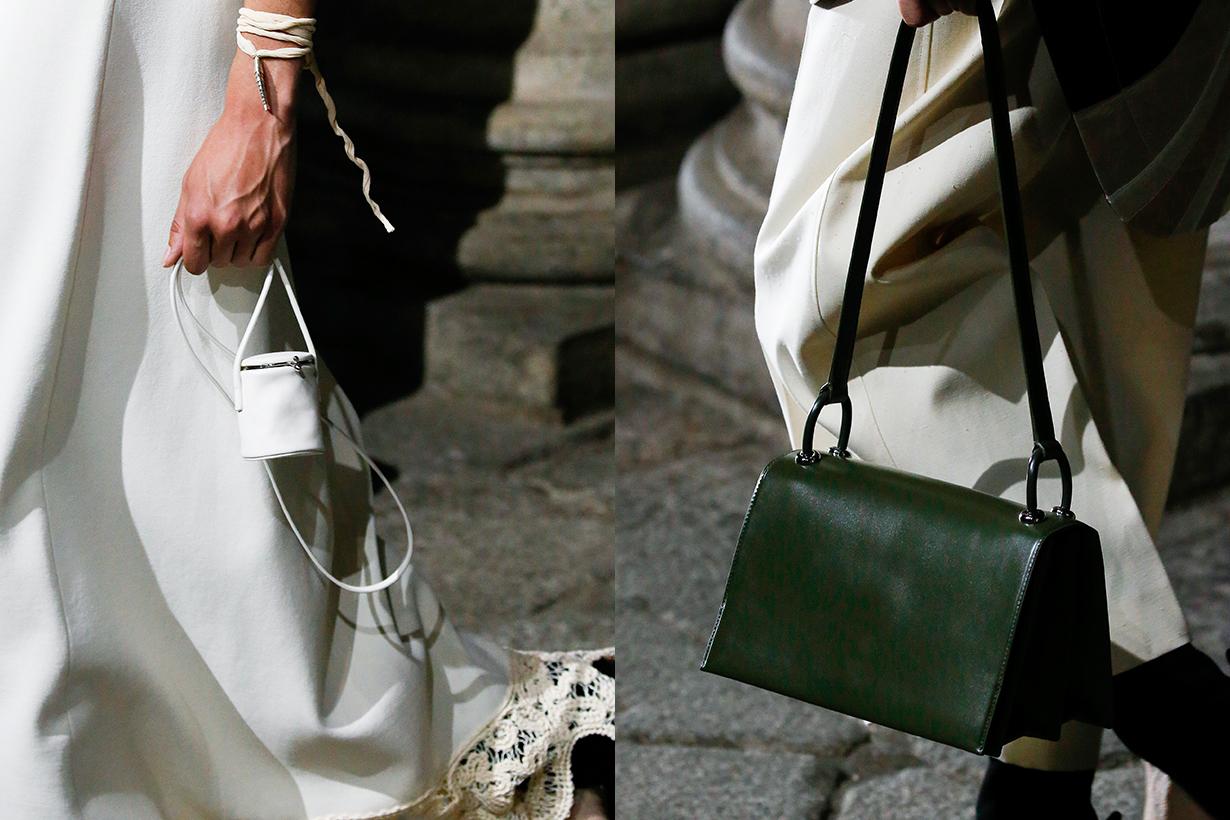 jil sander mfw 2020 ss handbags must have