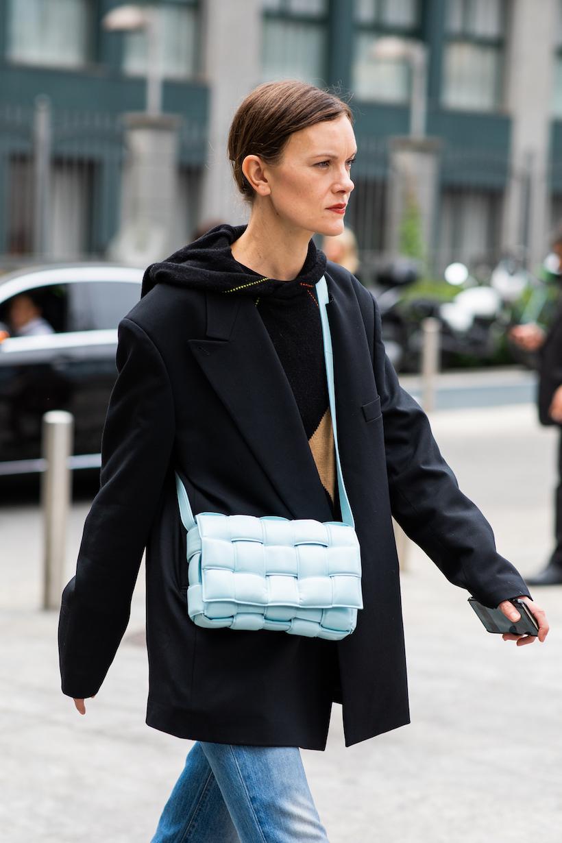 bottega veneta milan fahsion week street snaps it items bags lido boots