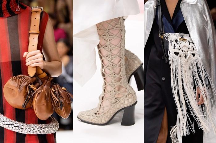 #LFW:束帶腰包、超長流蘇手袋、水晶編織涼鞋… JW Anderson 總能抓住所有人的眼球!