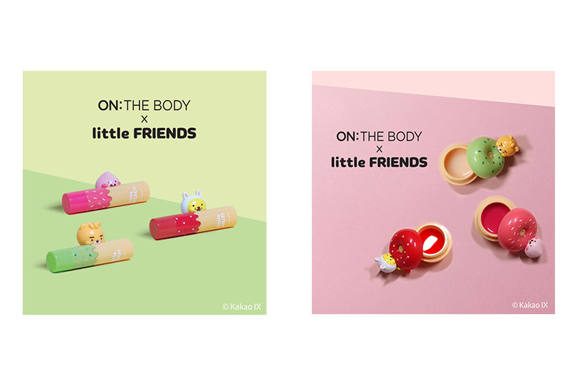 Kakao Friends x ON THE BODY lip balm