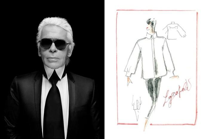 為老佛爺盡的最後一份心力:各界品牌好友、名人悄悄開啟了 The White Shirt Project!