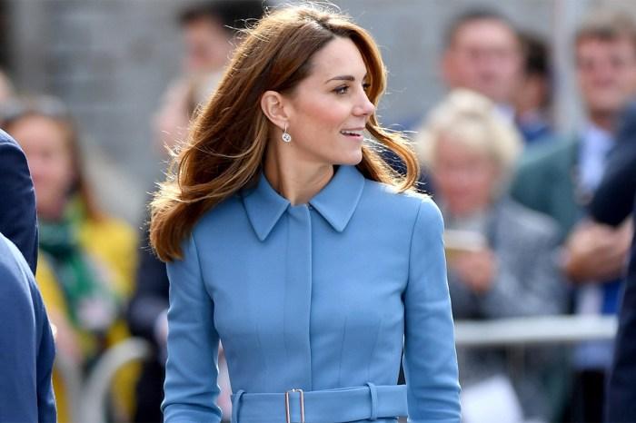 凱特不愛浪費的又一證明!這條裙子原來已第四次重穿?