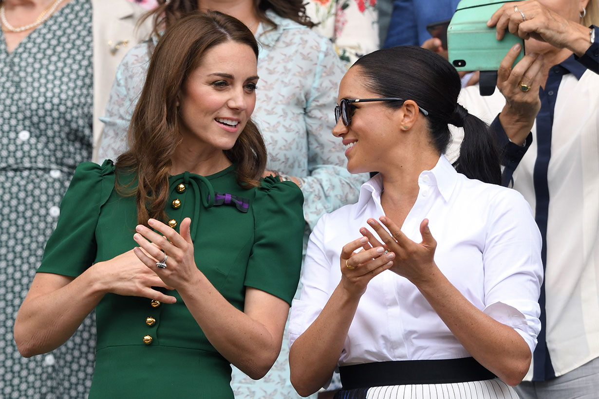 4 Wardrobe Staples Kate Middleton and Meghan Markle Love
