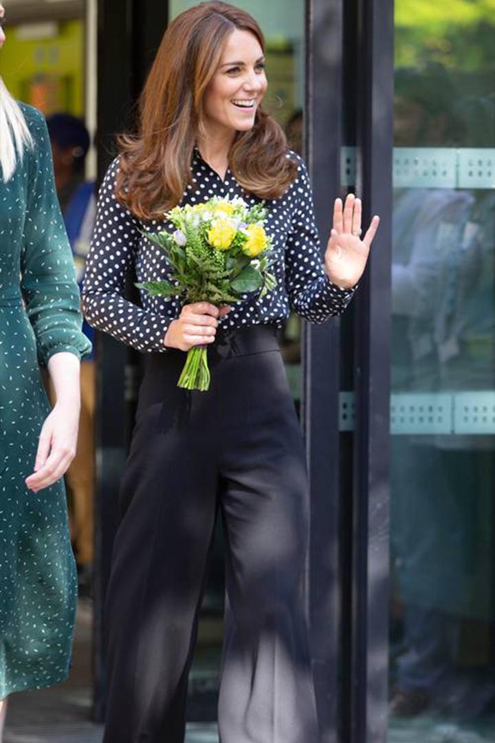 Kate Middleton's Zara Culottes Look