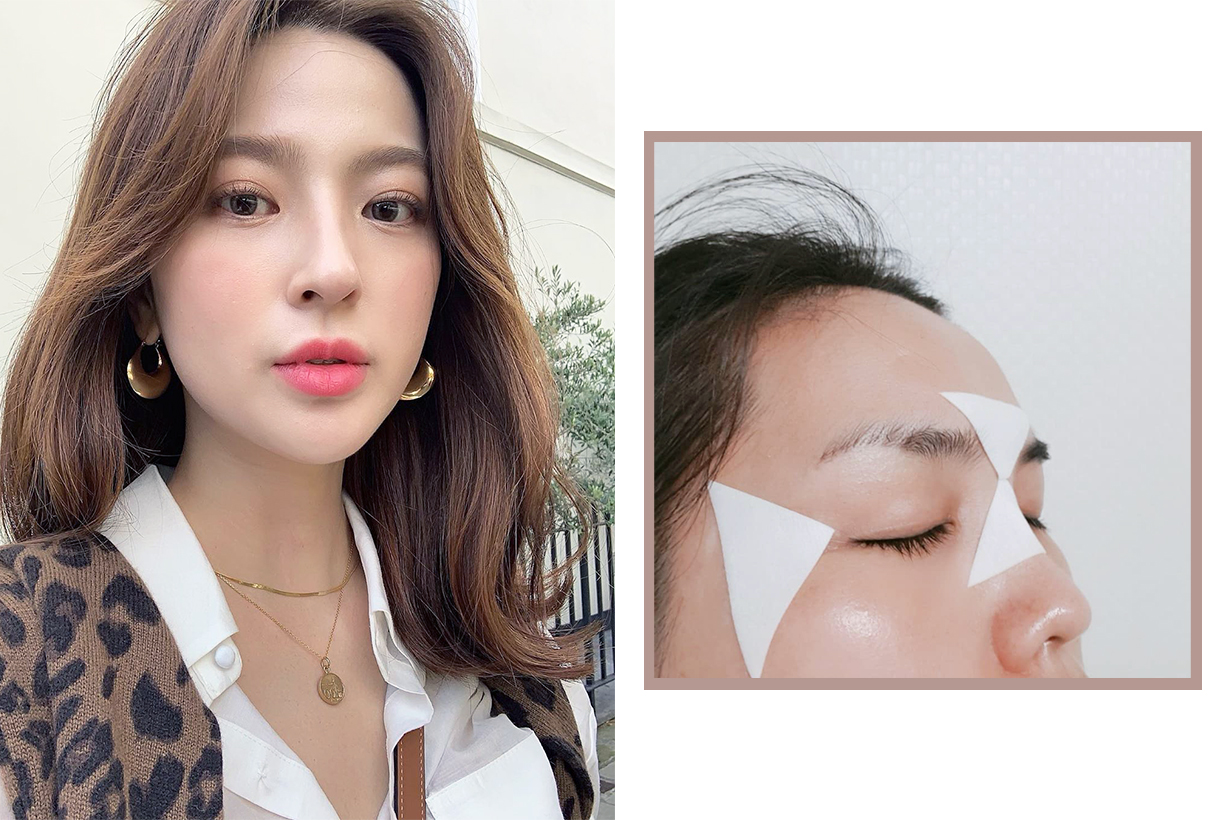 Wrinkles fine lines Kiehl's Line-Minimizing Targeted Triangle Patch-Masks Decree forehead wrinkles nasolabial folds smile lines laugh lines crow's feet