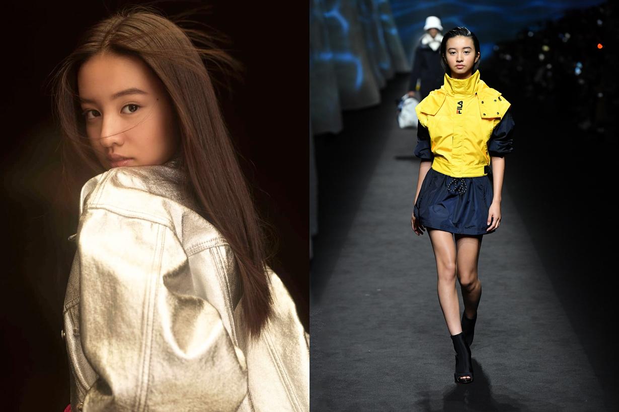 koki Kimura Mitsuki fila milan fashion week runway walk