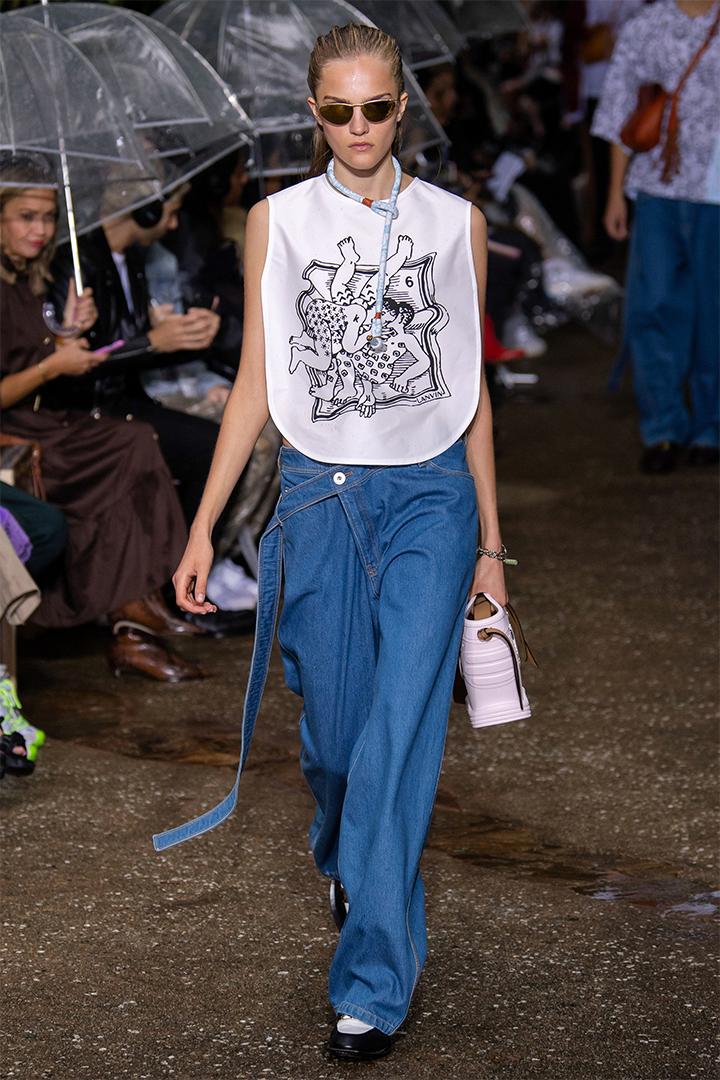 Lanvin Spring 2020 Paris Fashion Show