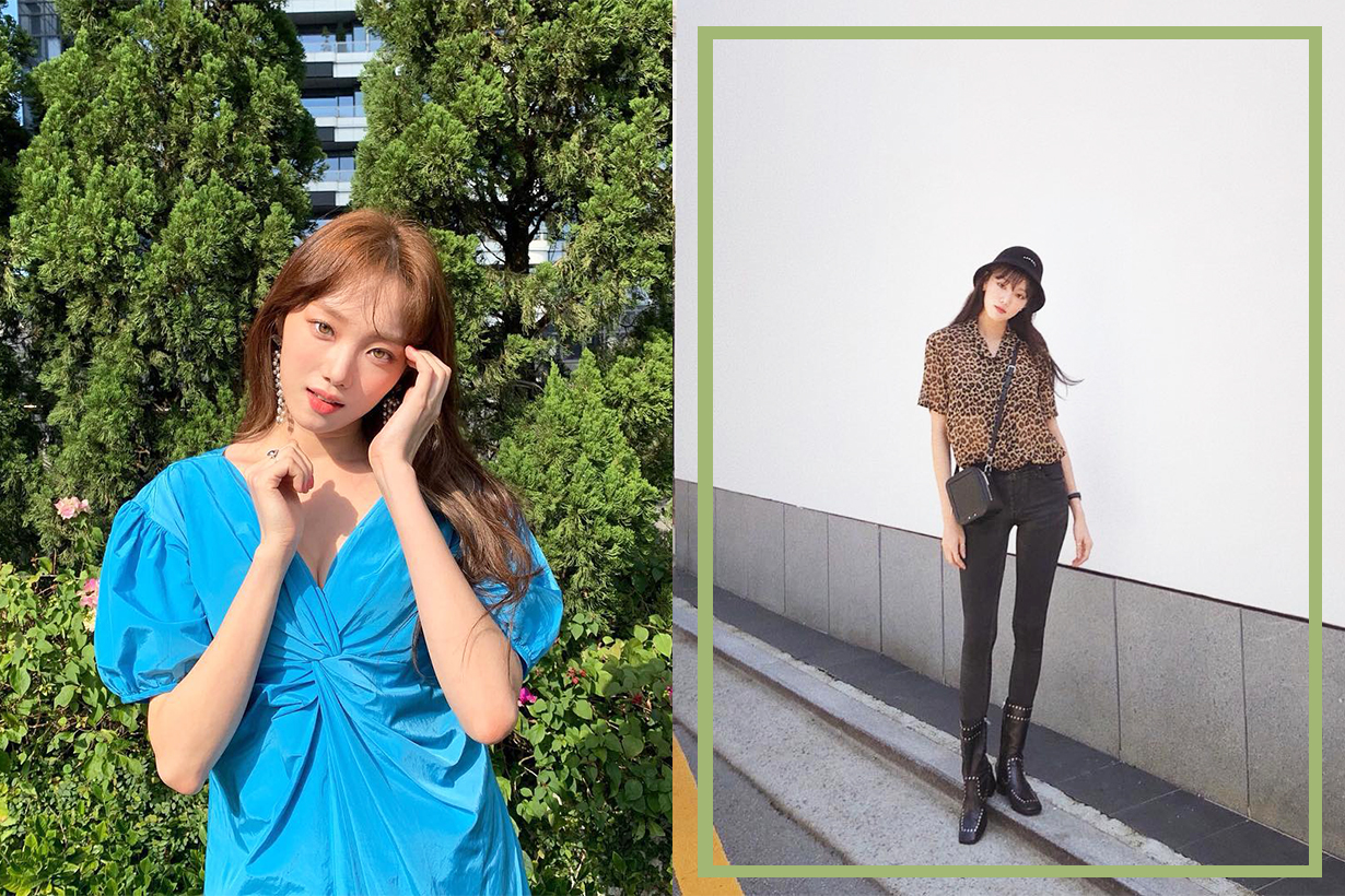 Lee Sung Kyung Biblee Milan Fashion Week 2019 MFW Spring Summer 2020 SS20 Gucci Celebrities Styles Outfit k pop korean idols celebrities models actresses