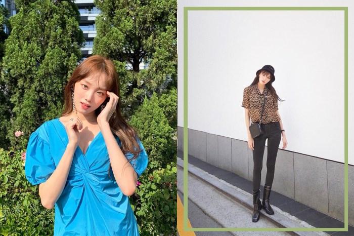 李聖經以校園風造型現身米蘭時裝周,網民:很想跟她做同學!