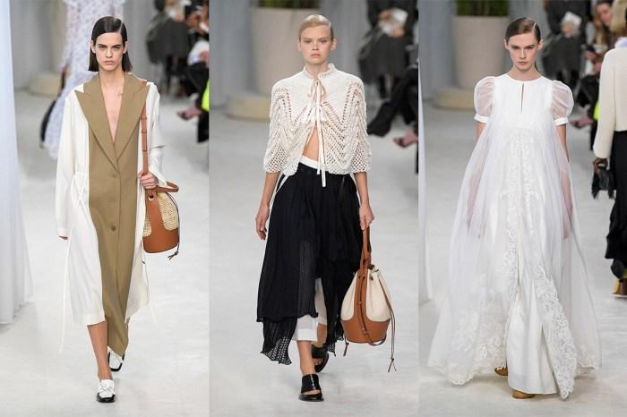 #PFW:遊走於性感與恬淡之間,Loewe 這季又有潛力 It Bag 誕生!