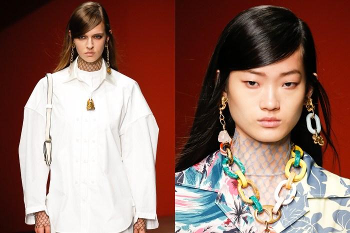#LFW:除了不同形式的瀏海造型,長髮女生還有這個選擇!