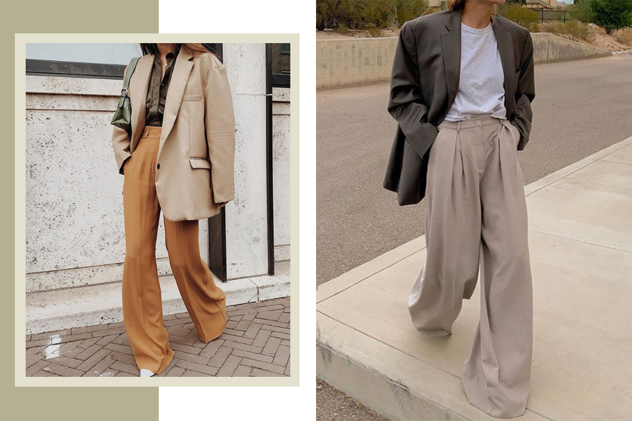 4 Shoes to Own If You're Into Fall's Loose-Trouser Trend