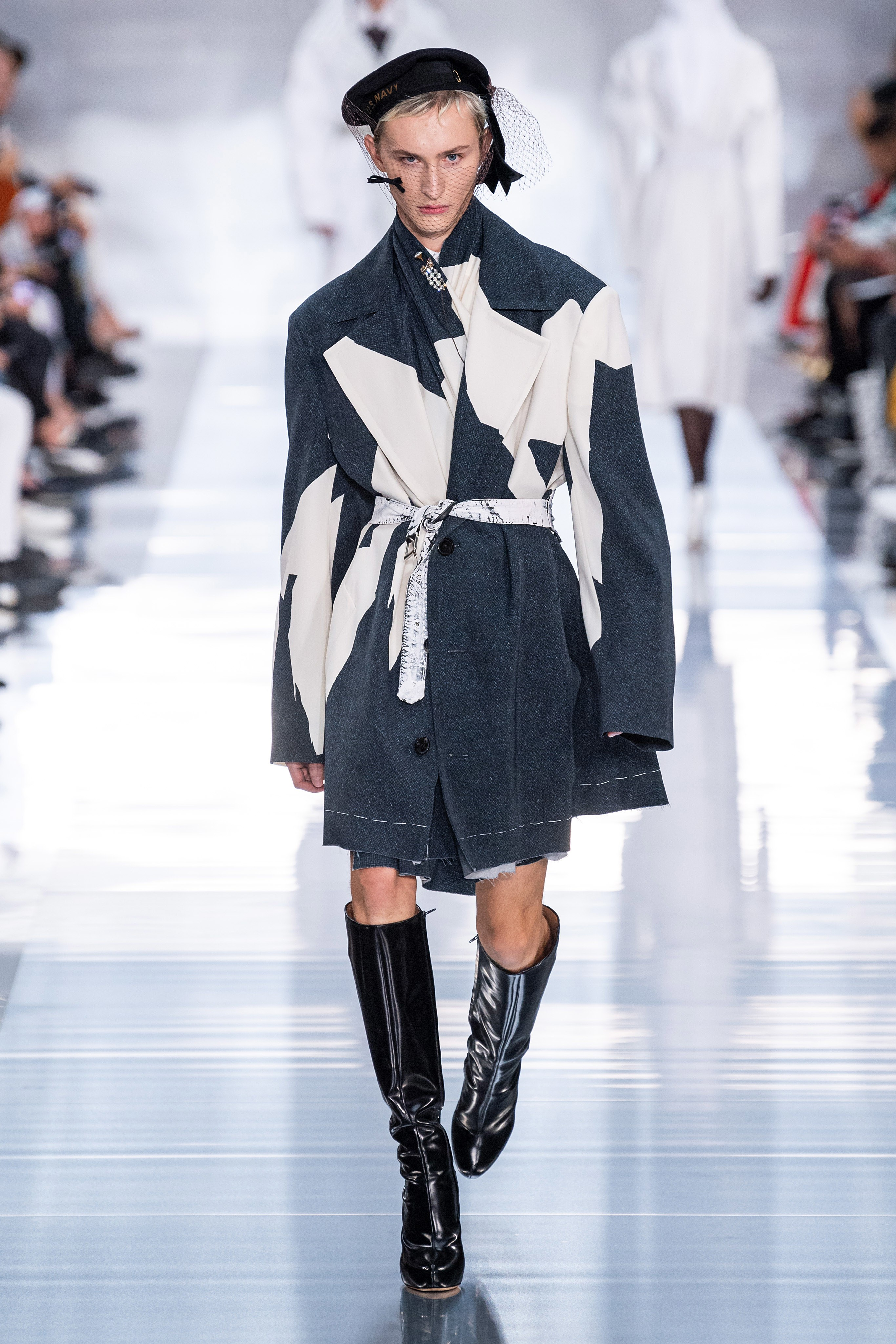maison margiela ss20 paris fashion week runway john gallino