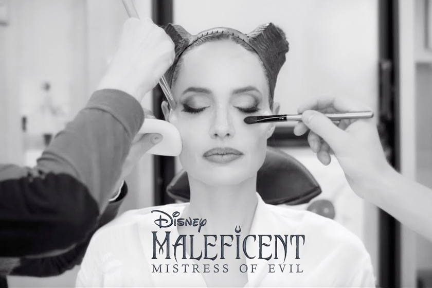 maleficent 2 angelina jolie behind the scnecs makeup process