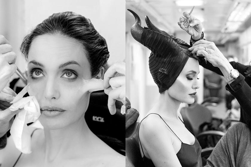 maleficent 2 angelina jolie behind the scnecs makeup process