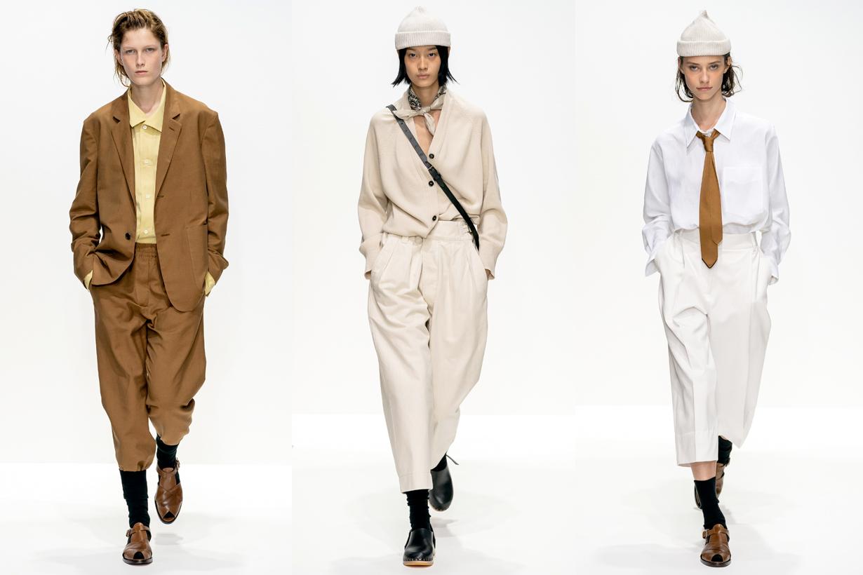 margaret howell lfw london fashion week 2020 ss boyish