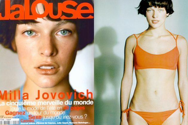 Milla Jovovich daughter ever anderson jalouse cover prada celebrity child