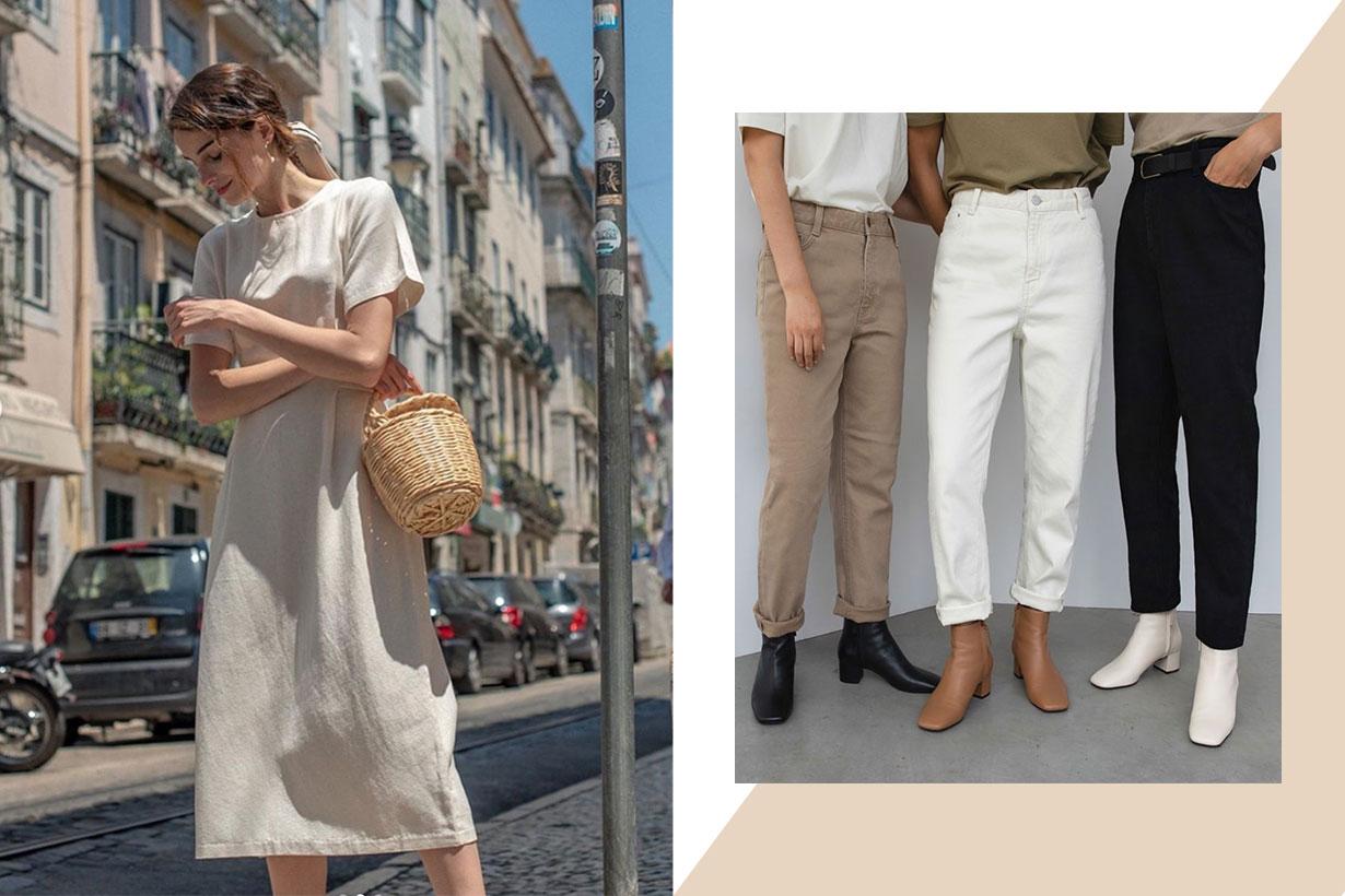 5 minimal fashion brand