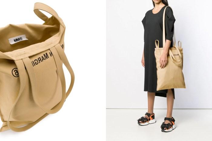 永遠買不完的 Tote Bag 有新選擇:MM6 推出兩用托特包,長揹帶的設計時髦又實用!