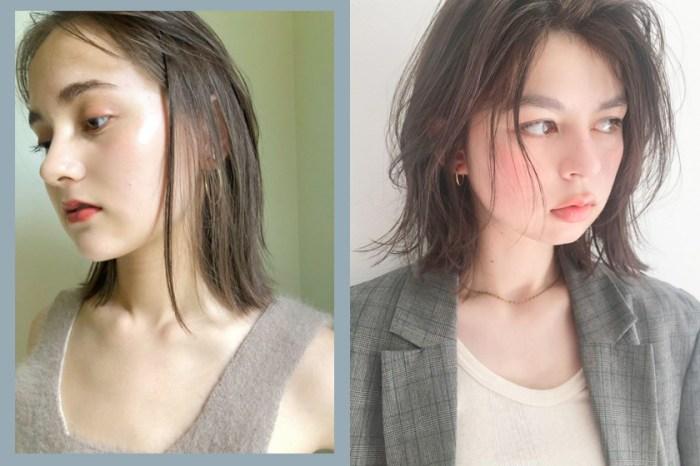 日本女生流行的微濕髮該怎麼打理?原來髮型師都藏了一個造型法寶!