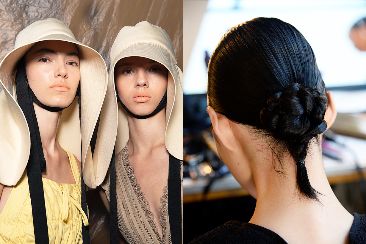 New York Fashion Week NYFW Self Portrait braid hairstyles trend 2020 Spring Summer 2020 SS20