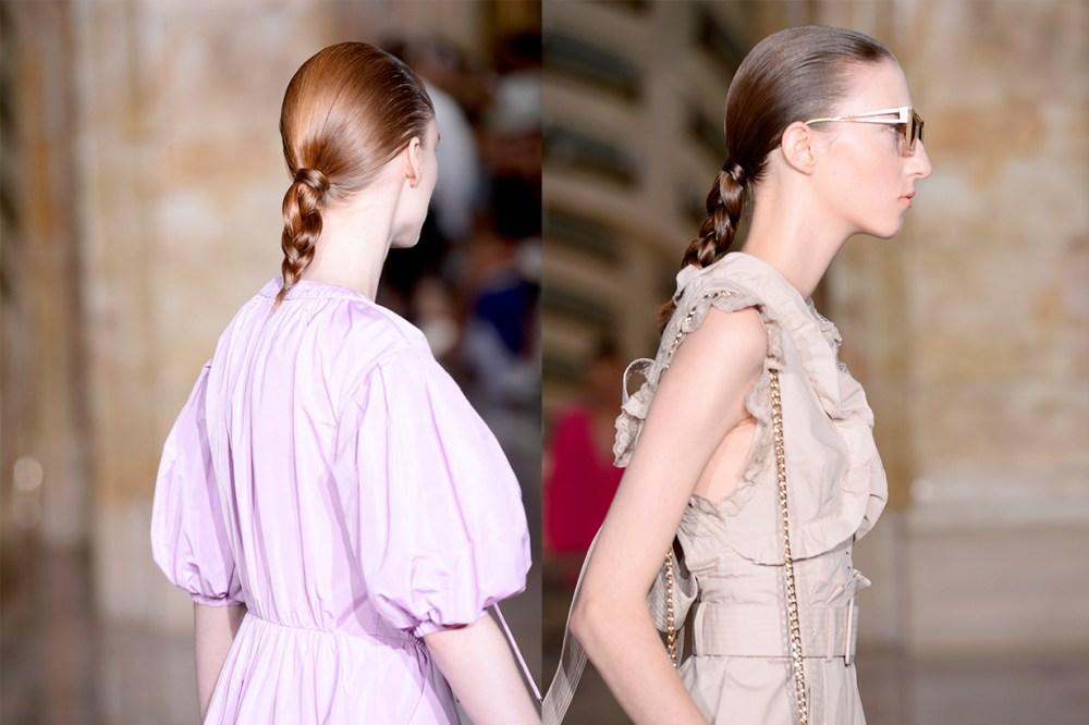 New York Fashion Week NYFW Self-Portrait braid hairstyles trend 2020 Spring Summer 2020 SS20