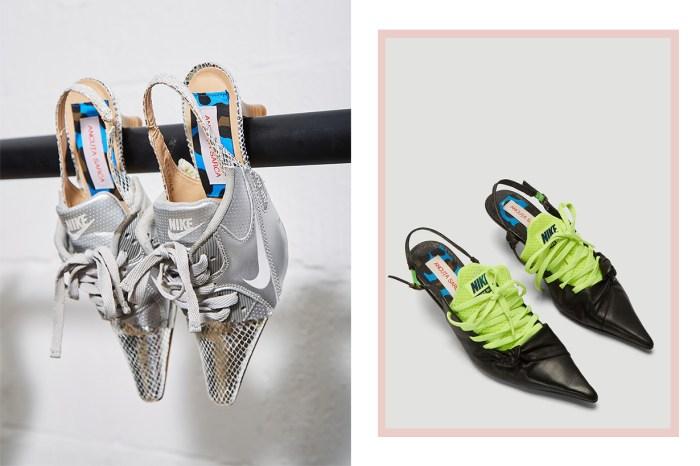 當 Nike 變成貓跟鞋?世上獨一無二的 Sneaker Heels 竟然真的有售!