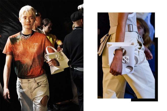 #PFW:Off-White 最新款手袋,竟像老鼠咬過的芝士?