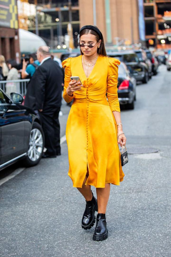 Padded Headbands Trend 2019 New York Fashion Week