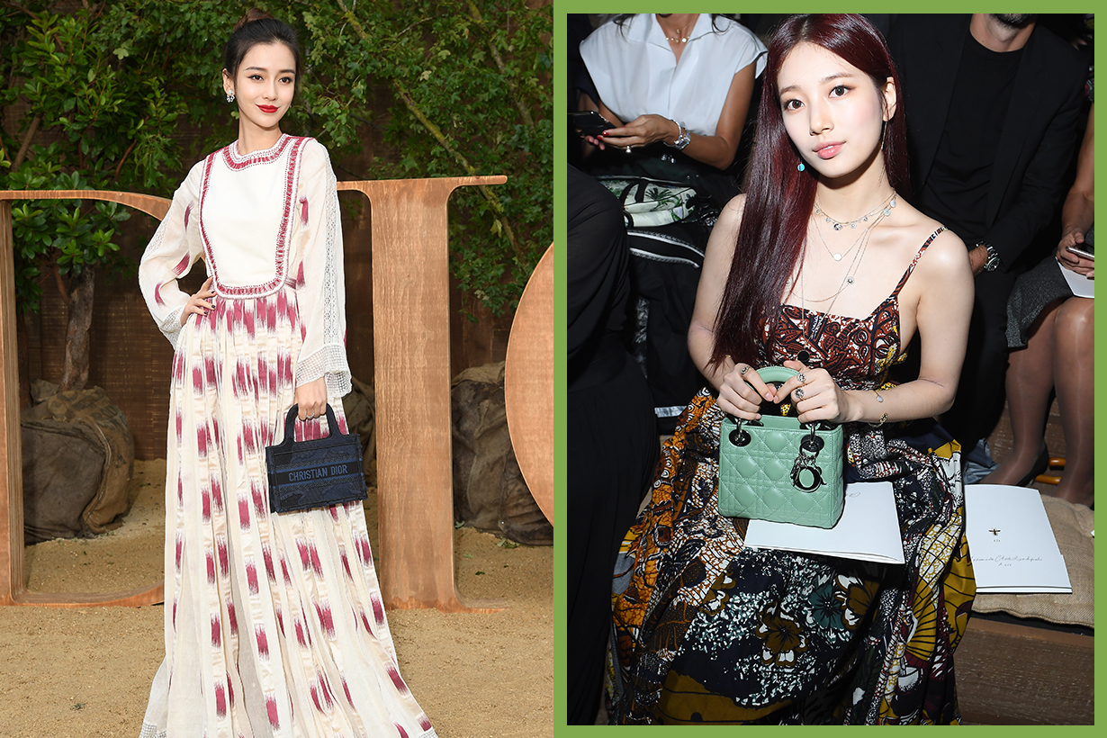 Suzy Bae Su Ji Angelababy Yang Ying Yeung Wing Paris Fashion Week PFW 2019 SS 2020 Spring Summer Dior Show celebrities styles outfits korean idols celebrities singers actresses chinese actresses