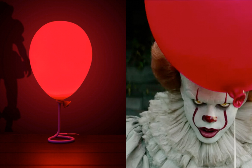 it Pennywise balloon lamp movie clown