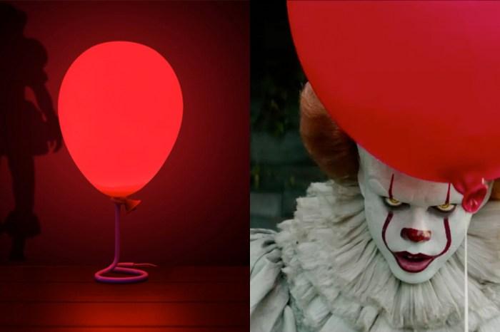 短時間內售罄一空!你也想要來盞 Pennywise 《牠》的氣球桌燈嗎?