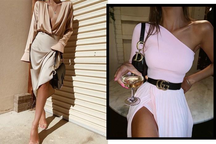 同樣是襯衣裙子,為何街拍女生看起來更輕奢?