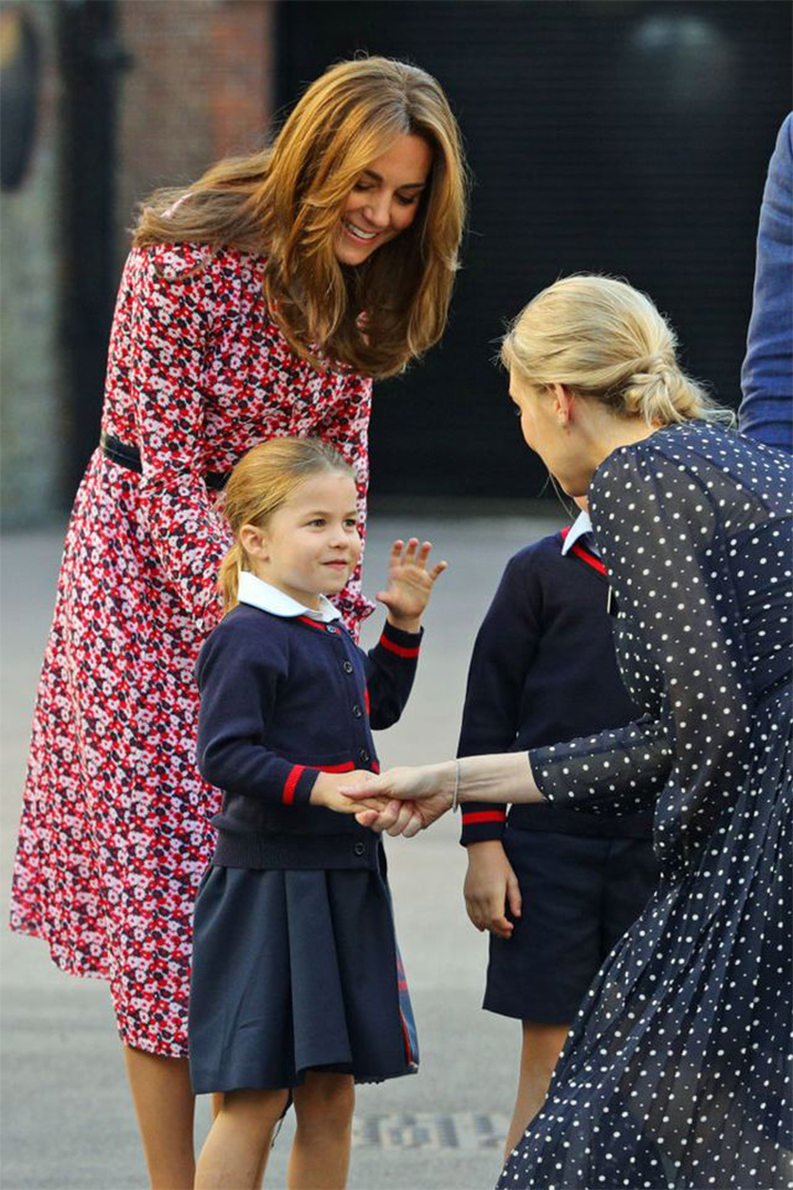 Kate Middleton's Back-to-School Midi Dress Style