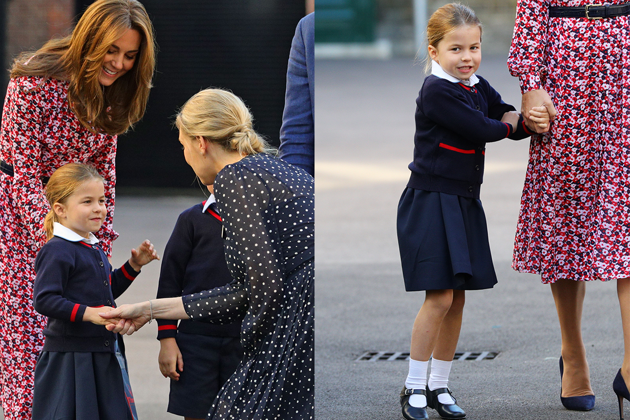 Princess Charlotte First Day At School