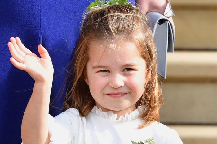 夏洛特公主剛上學不久,已經獲得霸氣的新綽號!