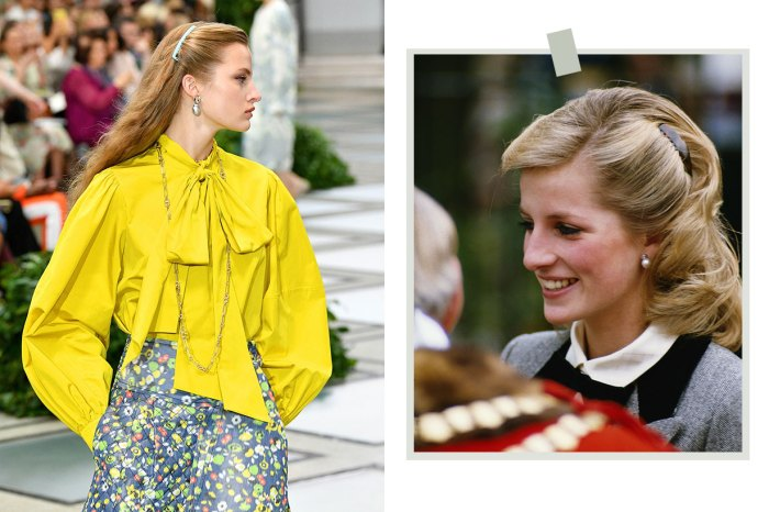 Tory Burch 帶回 80 年代髮飾,最初是因為戴安娜王妃才變流行!