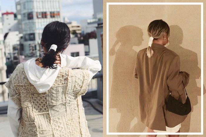 日本女生束髮不靠橡筋圈!改用絲帶綁不傷髮又顯時尚