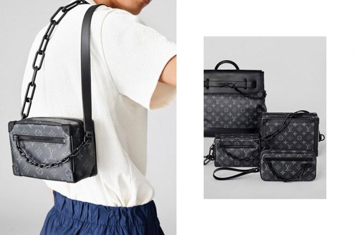 誰說不能揹男生的包? Louis Vuitton「優雅黑」手袋系列,展現簡約中性美學!