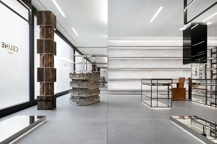 遊走在前衛與優雅間:Celine 紐約最新店鋪,店內設計由 Hedi Slimane親自操刀!