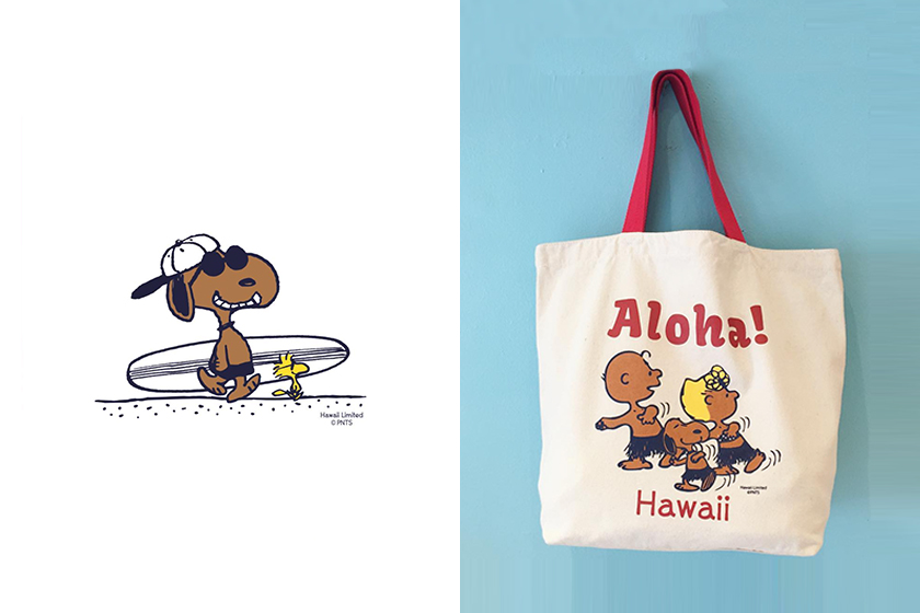 Moni Honolulu Snoopy PEANUTS shop in Hawaii
