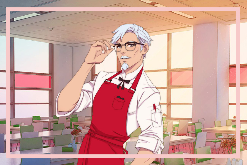 kfc colonel sanders dating simulator steam I Love You Colonel Sanders