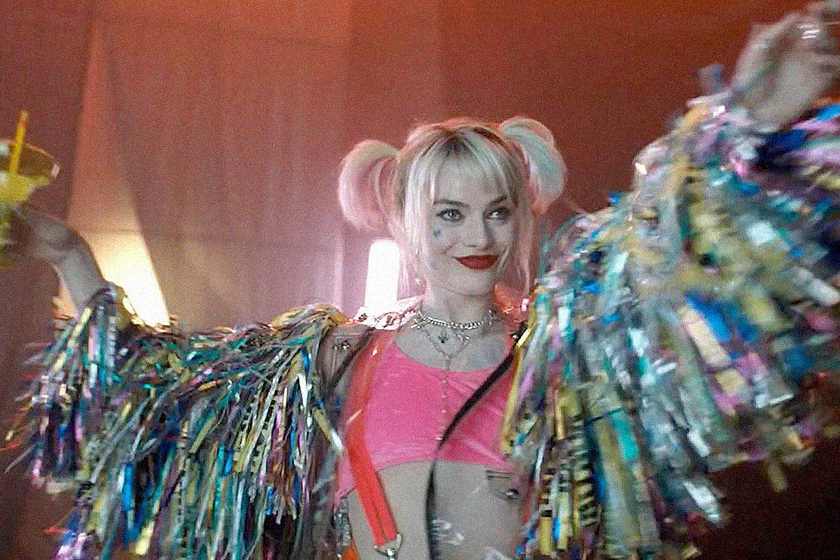 margot robbie birds of prey poster reveals